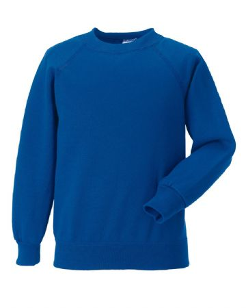 WATTEN EARLY LEARNING CENTRE ROYAL BLUE  SWEATSHIRT WITH LOGO